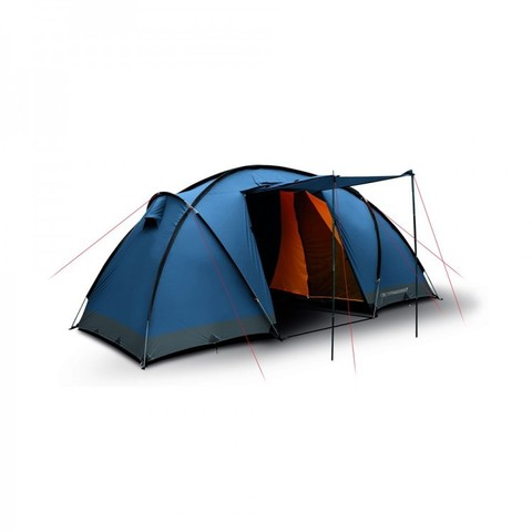 Кемпинговая палатка Trimm COMFORT II, 4+2 (синяя)