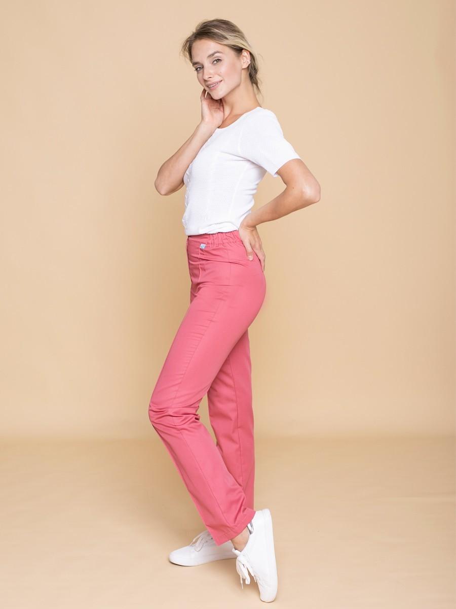 Заказать брюки женские медицинские  Б-110 пудрово-розовый