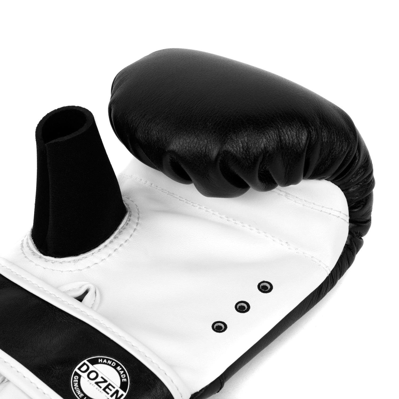 Снарядные перчатки Dozen Soft Pro Black вентиляция