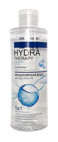 HYDRA THERAPY Мицеллярная вода 5в1 для лица, глаз и губ 400мл