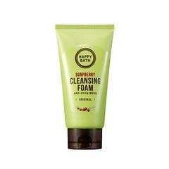 Пенка для умывания HAPPY BATH Soapberry Cleansing Foam 150g
