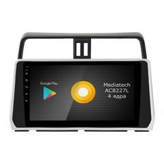 Штатная магнитола на Android 8.1 для Toyota Land Cruiser Prado 150 17+ Roximo S10 RS-1126