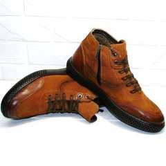 мужские зимние ботинки на натуральном меху