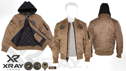 Куртка утепленная 'MA-1 Hooded Airborne' Khaki