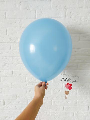 Голубой гелиевый шар