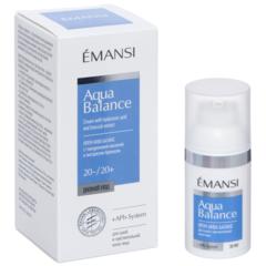 EMANSI Крем Аква баланс с гиалуроновой кислотой и экстрактом брокколи для сухой и чувствительной кожи