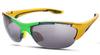 Очки спортивные Noname Kingston, yellow-green