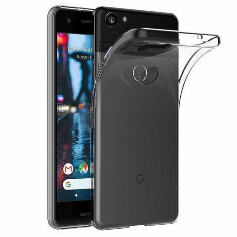 Силиконовый чехол для Google Pixel 3 XL (Прозрачный)