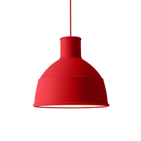 Подвесной светильник копия Unfold by Muuto D32 (красный)