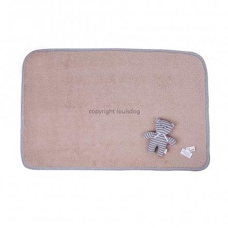 1547 LD - Одеяло для собак с игрушкой Мишкой