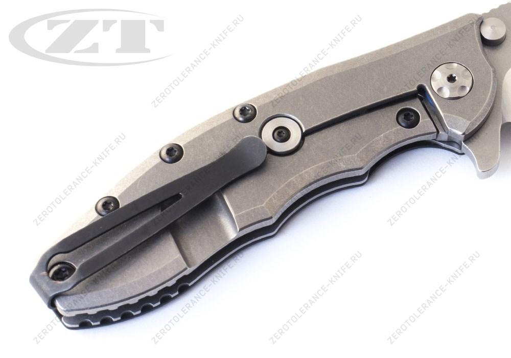 Нож Zero Tolerance 0562CF M390 Hinderer - фотография