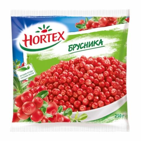 Брусника HORTEX с/м 250 г РОССИЯ