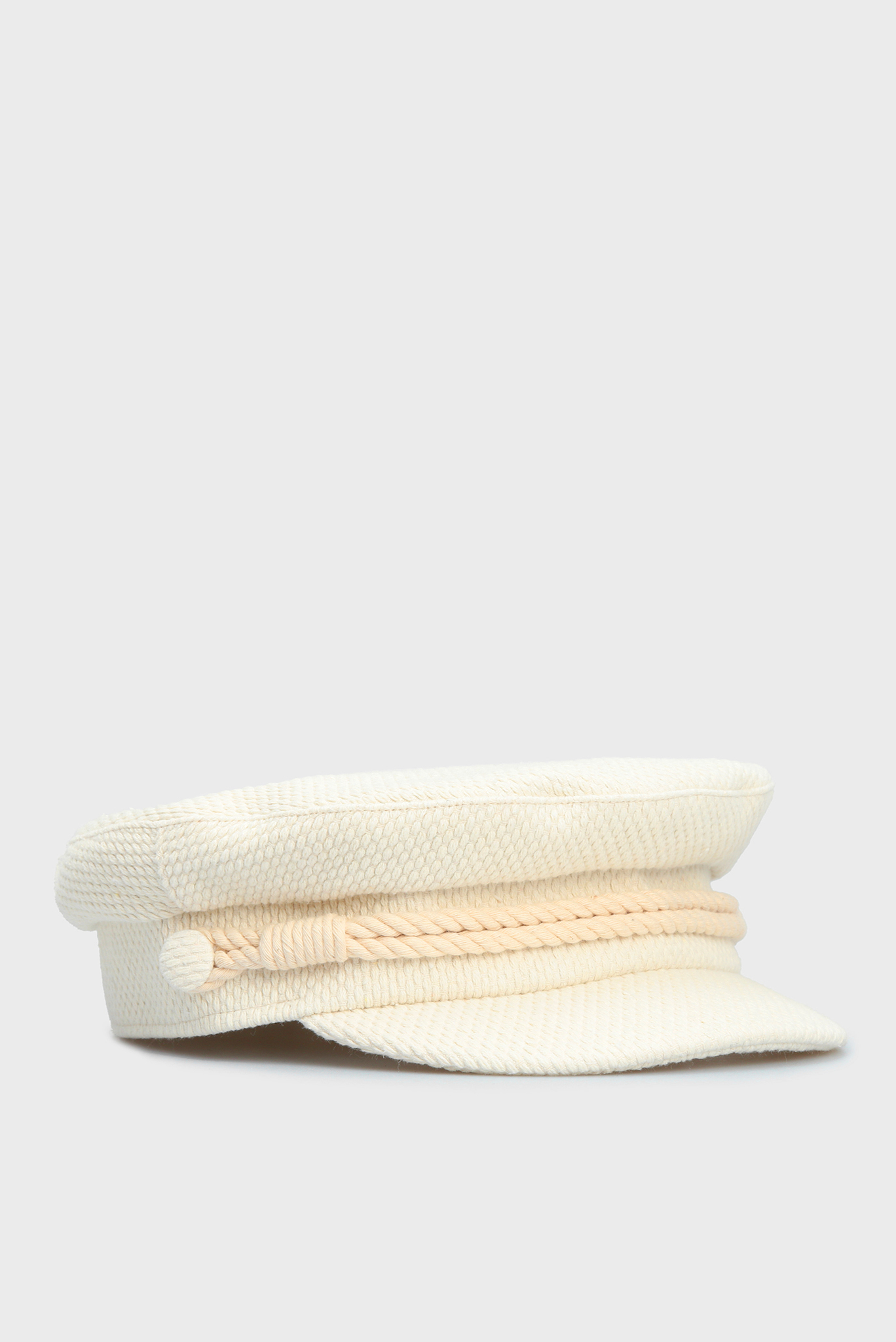Женское белое кепи BAKER BOY TWEED Tommy Hilfiger