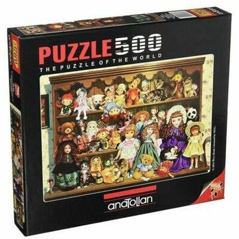Puzzle Büyükannemin Koleksiyonu. Grandma's Dresser 500 pcs