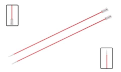 KnitPro Zing прямые спицы 25 см