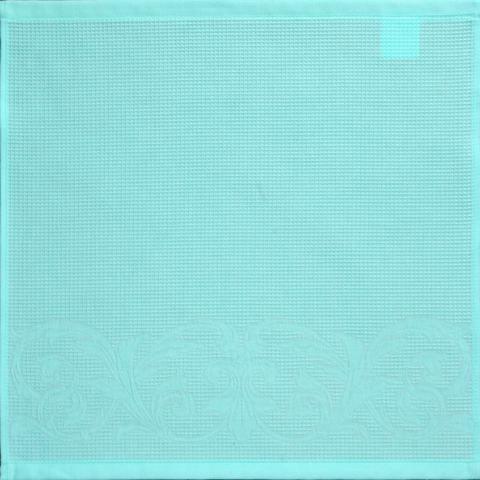 Рисунок полотенца 50х50, цвет 55-свежий ментол.
