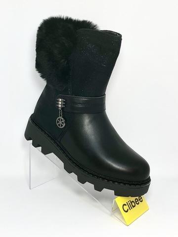 Clibee (зима) K912 Black 32-37