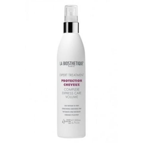 La Biosthetique Protection Cheveux Complexe: Реструктурирующий спрей мгновенного действия с молекулярным защитным комплексом для тонких волосс (Express Care Volume), 200мл