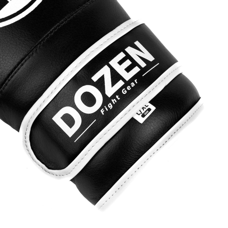 Снарядные перчатки Dozen Soft Pro Black лого