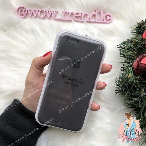 Чехол iPhone 6/6s Silicone Case /cocoa/ какао 1:1