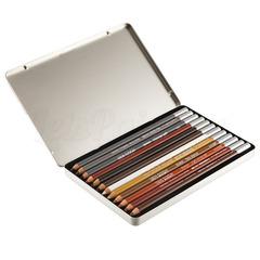 Набор из 12 цветных карандашей Van Gogh для эскизов и скетчей