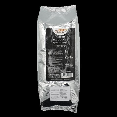 Какао порошок черный 10/12% жирн. DGF Royal, 1 кг