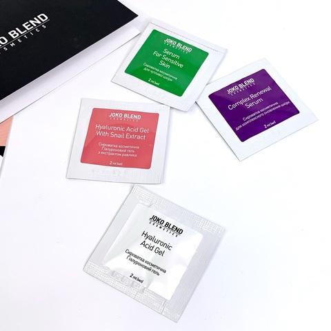 Сироватка пептидна для відновлення шкіри Complex Renewal Serum Joko Blend 2 мл (2)