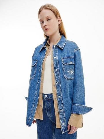 CALVIN KLEIN JEANS / Рубашка джинсовая