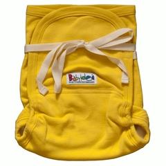 Трикотажный подгузник Babyidea Hemp Hour Strap Soft, до 3-х лет, Желтый (конопля/органический хлопок ) 2шт/уп