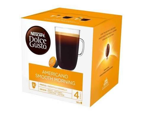 Кофе в капсулах Dolce Gusto Americano Smooth Morning