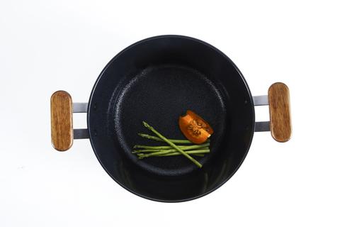Кастрюля Oslo IH 24 см для индукционных плит, с крышкой