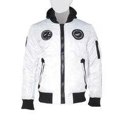 Куртка утепленная 'MA-1 Hooded Airborne' White