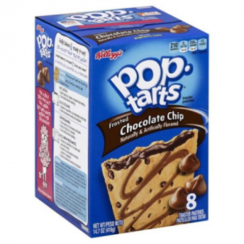 Печенье Pop Tarts Chocolate Chip 400 гр