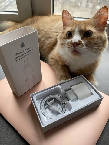 Сетевая зарядка Apple 20w USB-C Set type-c to lightening /упаковка/
