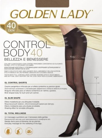 Control Body 40 GOLDEN LADY колготки