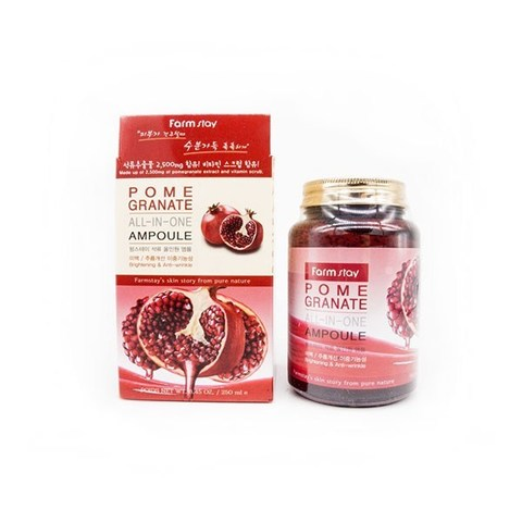 Farm Stay Pomegranate All-in-one ampoule Антиоксидантная сыворотка с экстрактом граната 250мл