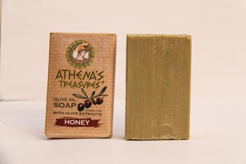 Оливковое мыло ручной работы ATHENAS TREASURES