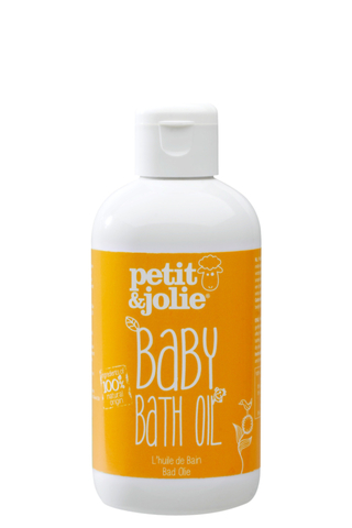 Масло для ванны для младенцев Petit & Jolie, 200 мл