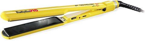Щипцы для волос BaByliss PRO EP Technology 5.0 широкие желтые