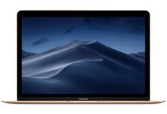 Apple Macbook 12 Retina 2018, Intel Core M3 1.2GHz, 8Gb, 256Gb SSD MRQN2 (Gold)