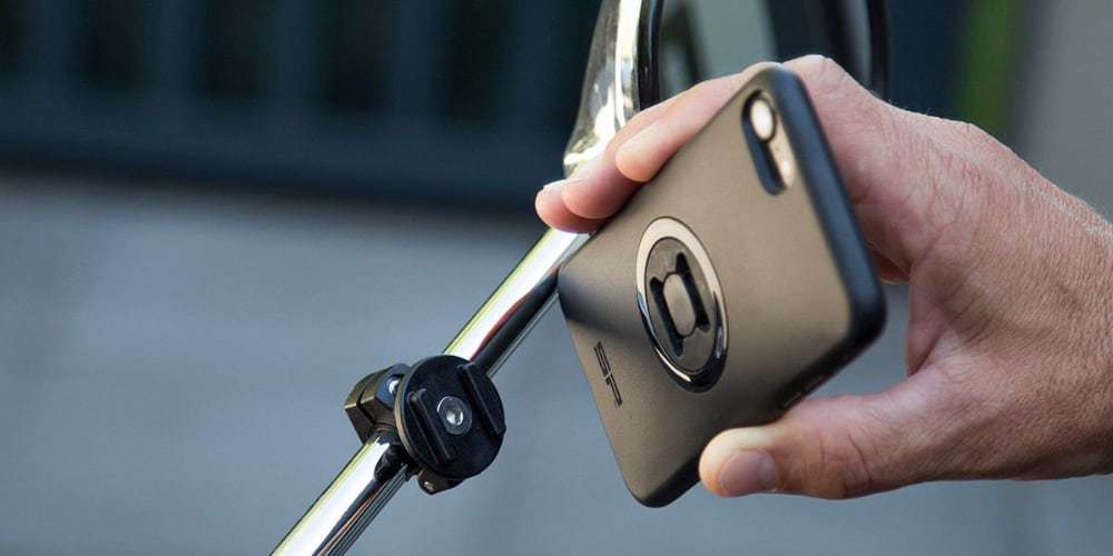 Набор креплений для смартфона на мотоцикл SP Connect Moto Mirror Bundle Universal