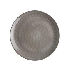 MELAMINE DESSERT PLATE, ROSETTE COCOUNUT