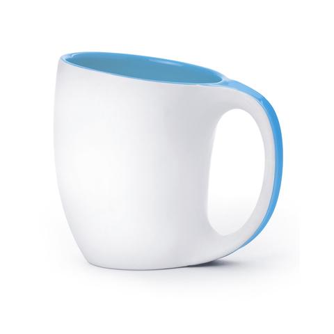 Кружка Asobu The porcelain saphire (0,4 литра), голубая