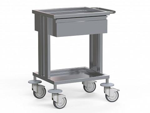 Стол для инструментов медицинский БТ-СТН1-110 - фото