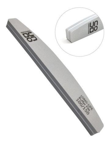 Пилка для шлифовки UNO полумесяц серый 100/150