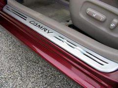Накладки порогов Toyota Camry 02 - 05