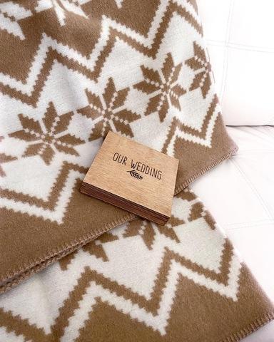 Одеяло ФЬОРД из новозеландской шерсти   KLIPPAN SAULE Латвия
