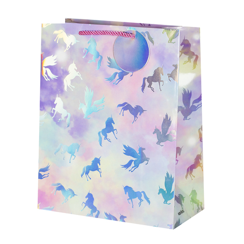 Пакет подарочный Unicorn 26*32*12.5 1