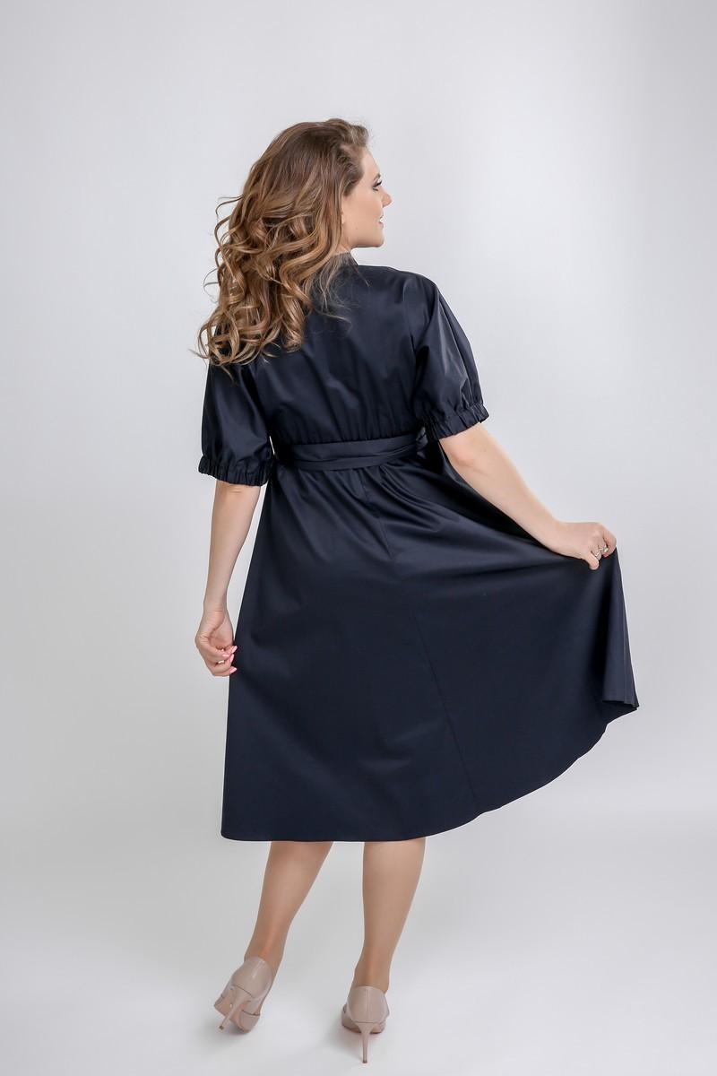 Фото платье для беременных GEMKO от магазина СкороМама, синий, размеры.