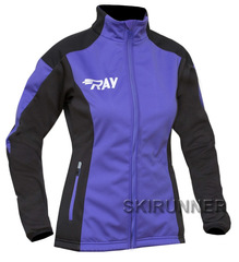 Утепленная лыжная куртка Ray Race WS Purple-Black женская